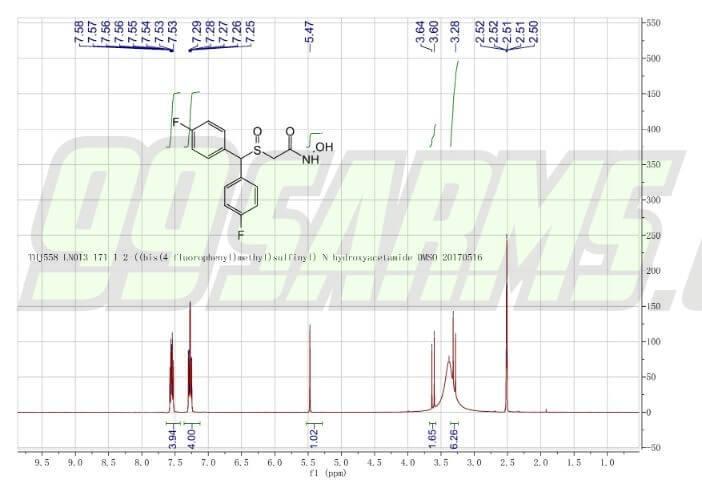 flmodafinil lab report